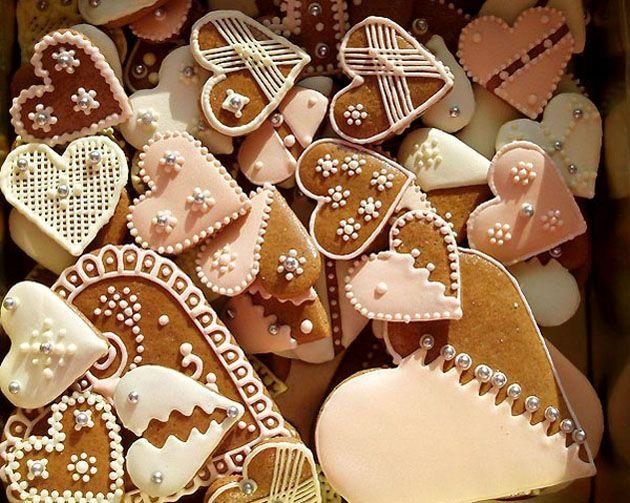 Медовое пряничное рождественское печенье