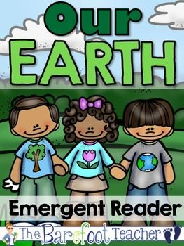 """FREE FOR AWHILE! Our Earth Emergent Reader - Biomes  13 pages  """"Our Earth"""" practices the high frequency word """"our"""" while teaching your littles about the various types of biomes that are included in our wonderful world."""