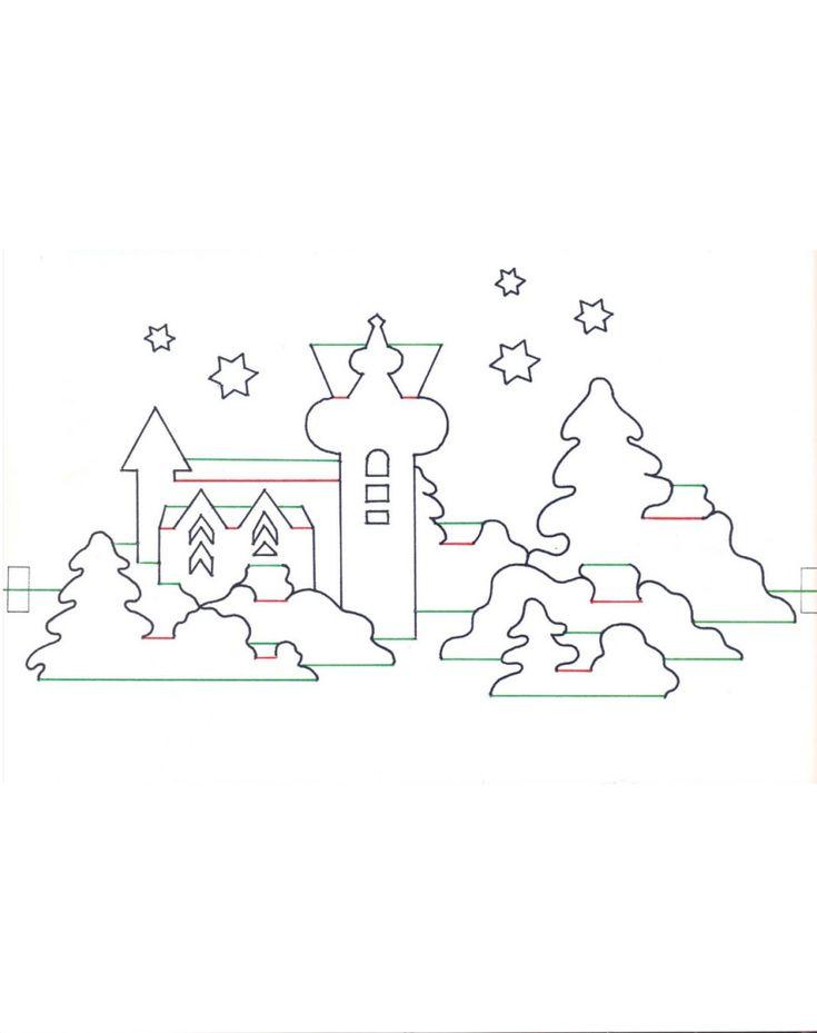 Поздравления, шаблон рождественской открытки
