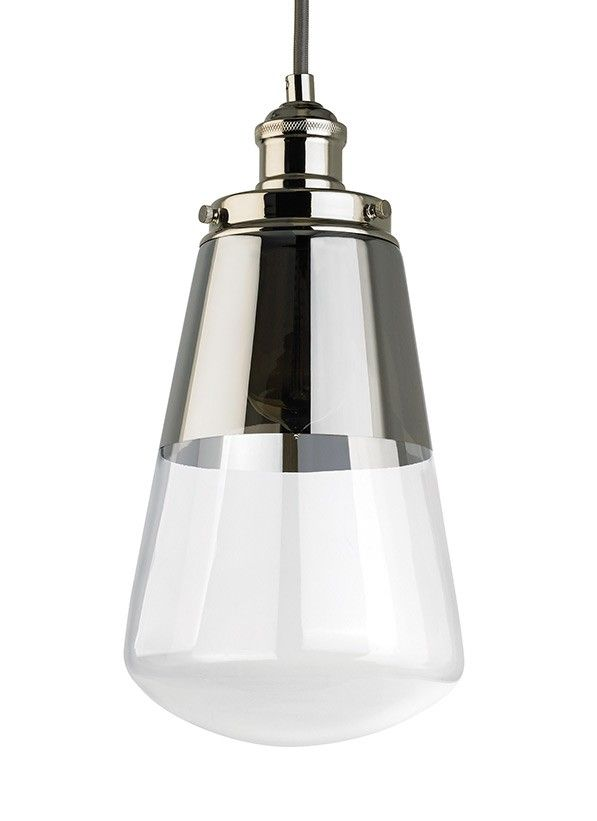 The Feiss Waveform Mini Pendant In Polished Nickel Provides Abundant Light  To Your Home, While Adding Style And Interest. Each Light Fixture In The  Modern ...