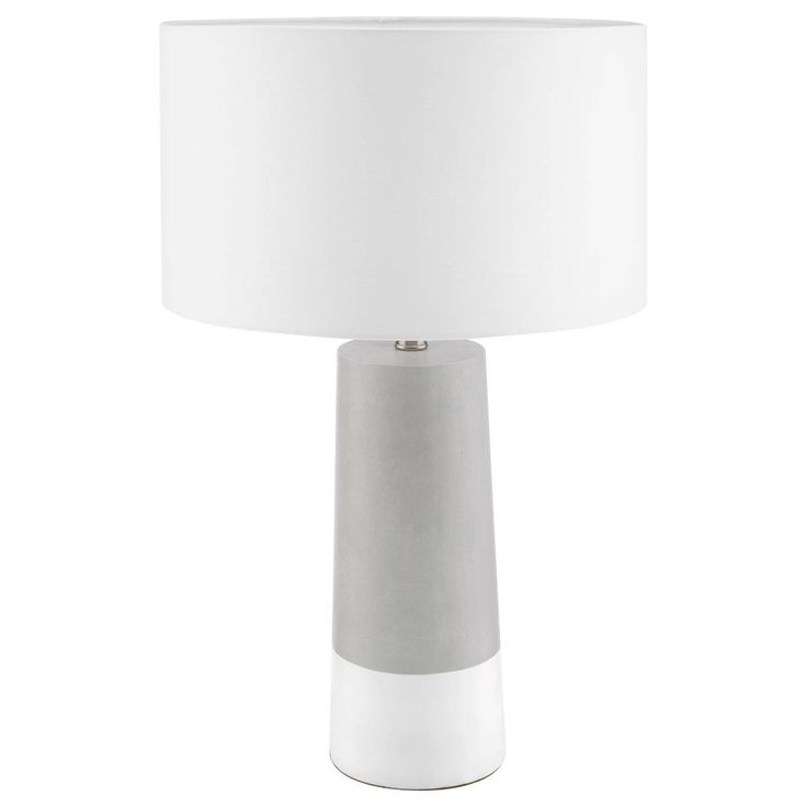They're essential elements in any home. We're talking about table lamps. Not only do they add a touch of style to your decor, they also light up your rooms. Featuring a contemporary design and sleek lines, this Scandinavian-inspired pick would make a great statement in a living room on a side table next to a sofa or lounge chair. Go for perfect symmetry with a pair, placed one on either side of a bed in a master bedroom. The styling is up to you!