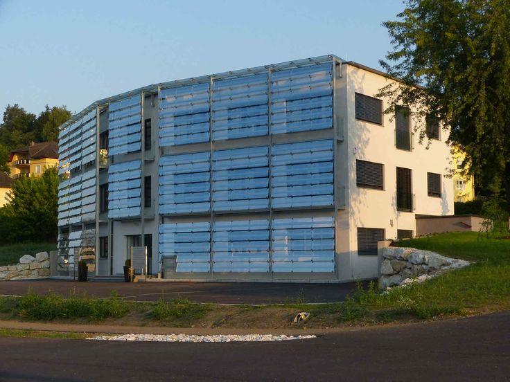 Fertighaus modern flachdach holz  11 besten Architekten-Fertighäuser von VARIO-HAUS Bilder auf ...