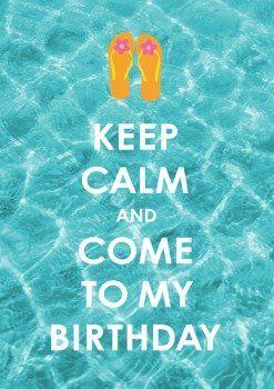 Einladung zu einer Party mit  Thema: Unterwasserwelten?  Keep Calm | Im Sommer Geburtstag? Strandparty? Keep it cool!  #Mermaid Party #Wasser #Nixe #Wassermann #Fisch #Fische #Mermaiding