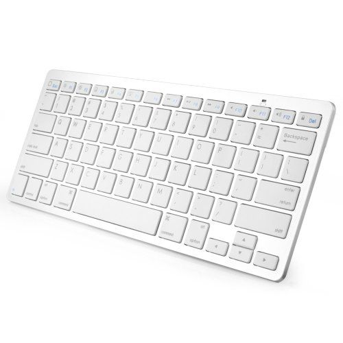 Anker® T300 Ultra-Slim Mini Bluetooth 3.0 Wireless Keyboard for iPad Air, iPad Mini 2, iPad Mini, iPad 4 / 3 / 2, Galaxy Tab and other Tablets - White Anker http://www.amazon.com/dp/B005ONMDYE/ref=cm_sw_r_pi_dp_AgMYtb1P4X1EXTX2