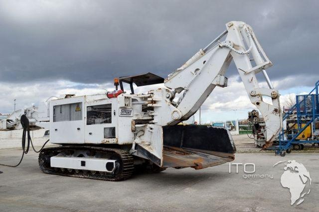 Excavadora de tunel Schaeff Terex ITC 112 usada. http ...