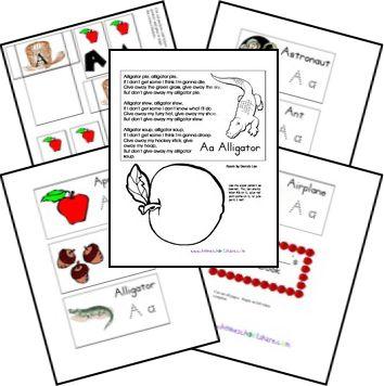 Free Alphabet printouts for each letter