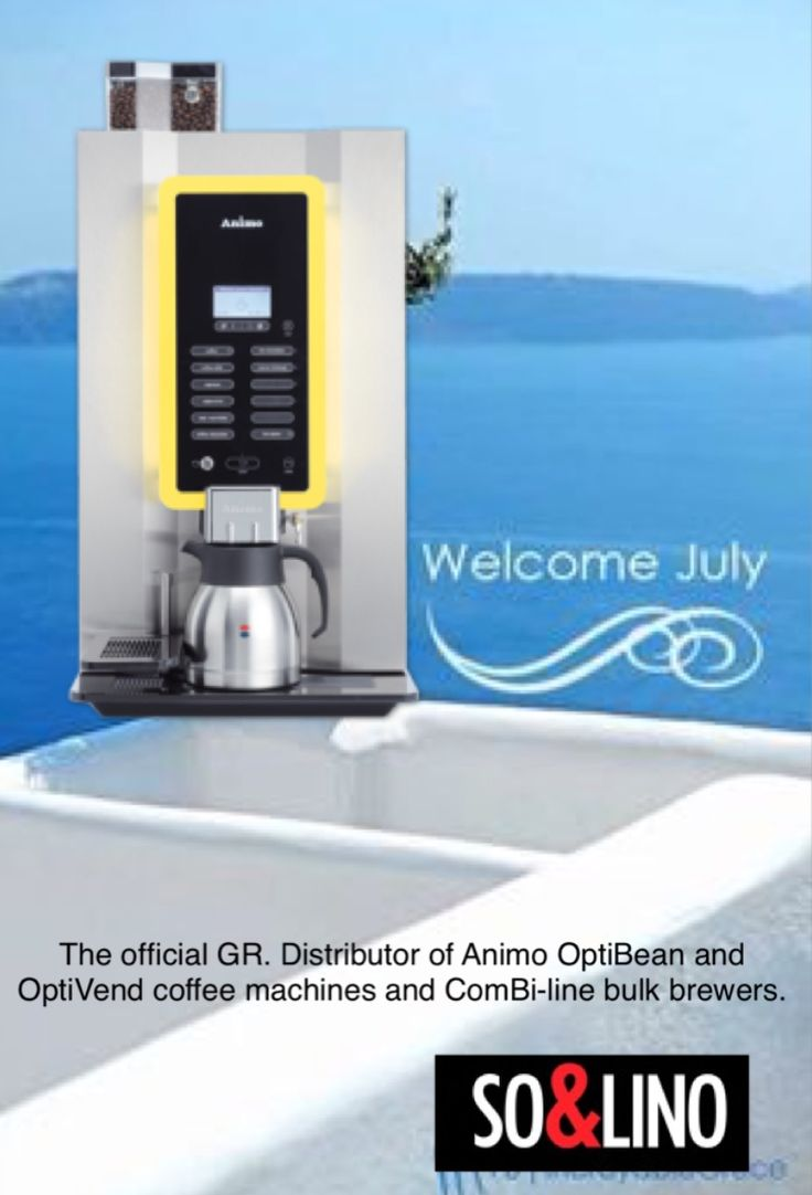 The official GR distributor of Animo OptiBean and OptiVend coffee machines and ComBi-line bulk brewers.