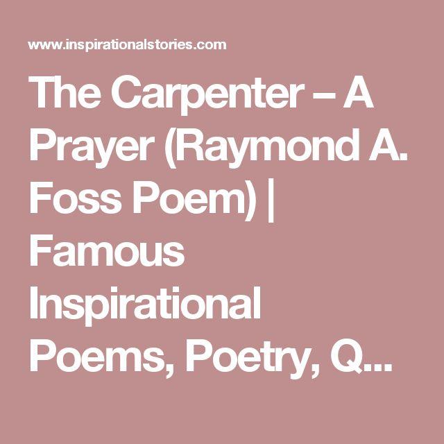Best 25+ Famous inspirational poems ideas on Pinterest | Famous ...