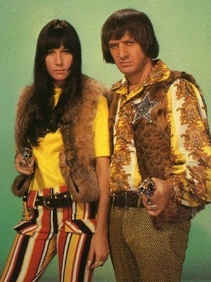 The original hippies Sonny and Cher