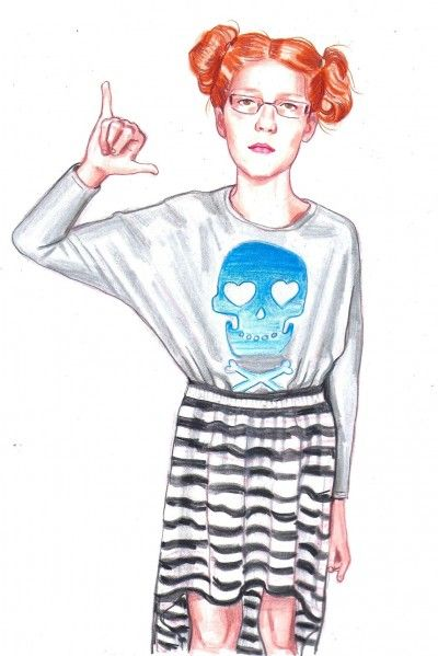 21 Kids Who Dress WAY Better Than Us. love these drawings - kids have no fear.