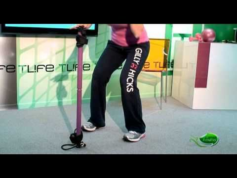 Tlife.gr - Γυμναστική στο σπίτι! Ένα σκουπόξυλο αρκεί... - YouTube
