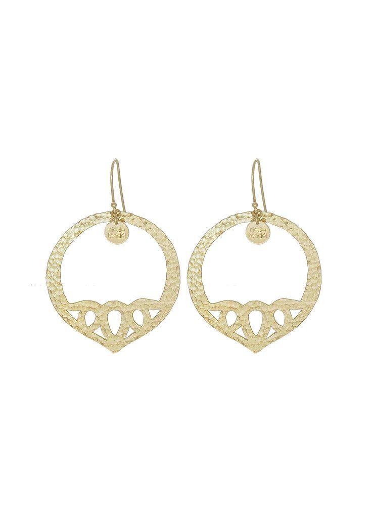 Geneva Large Earrings by Nicole Fendel