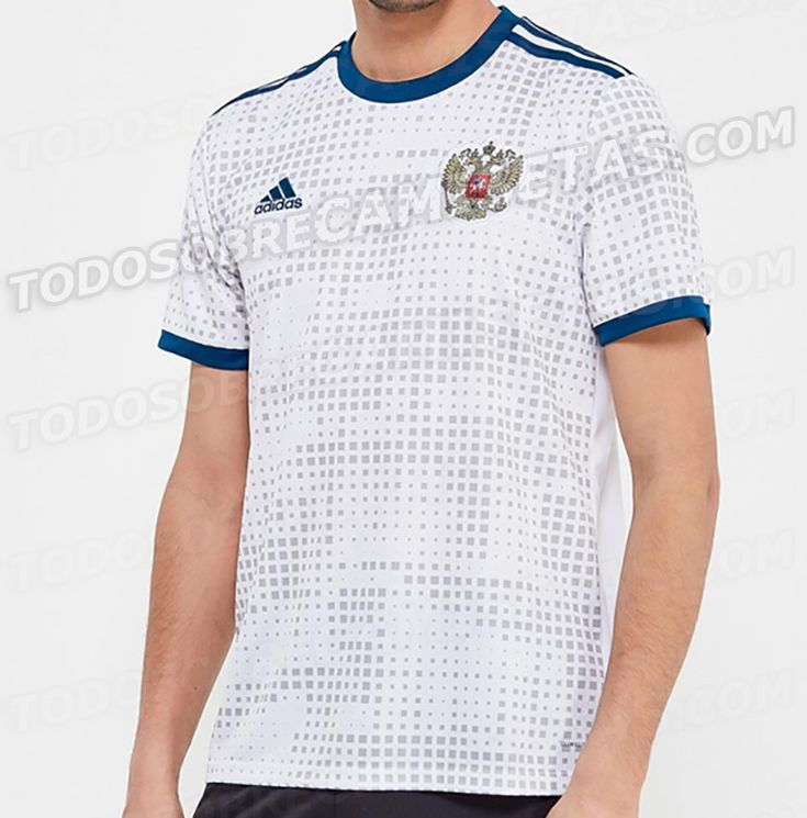 Russia 2018 World Cup away kit LEAKED