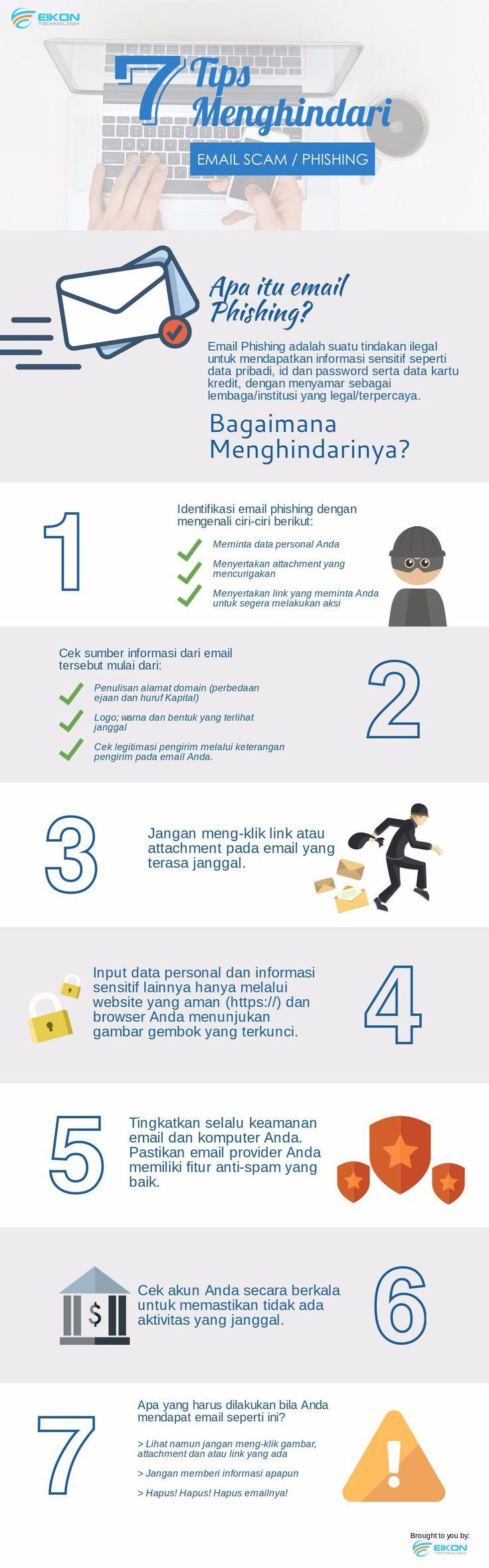 7 cara efektif menghindari #EmailPhishing atau #EmailScam   #security #emailsecurity