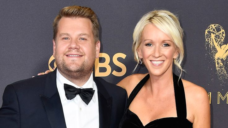 It's a girl! James Corden and wife welcome their third child