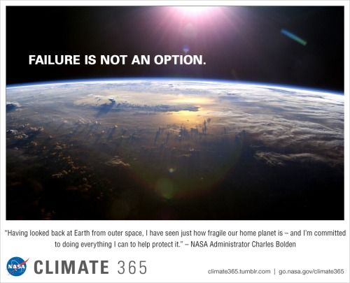 """CLIMATE365  NASA Administrator Charles Bolden has experienced that rarest view of Earth from space, afforded only to astronauts. He reflects on that perspective in his new blog post, """"Protecting Planet Earth,"""" as he outlines NASA's scientific research role in President Obama's new Climate Action Plan."""