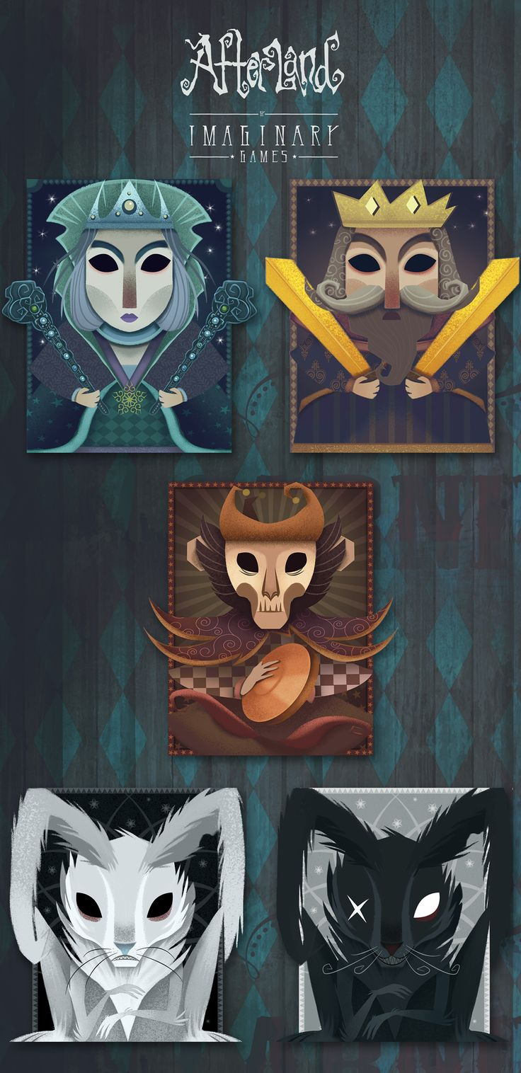 Afterland by Imaginary Games - Card Packs on Behance