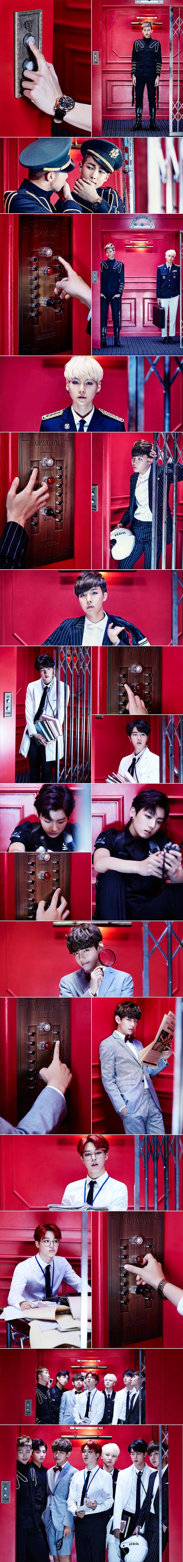 BTS Dope Elevator
