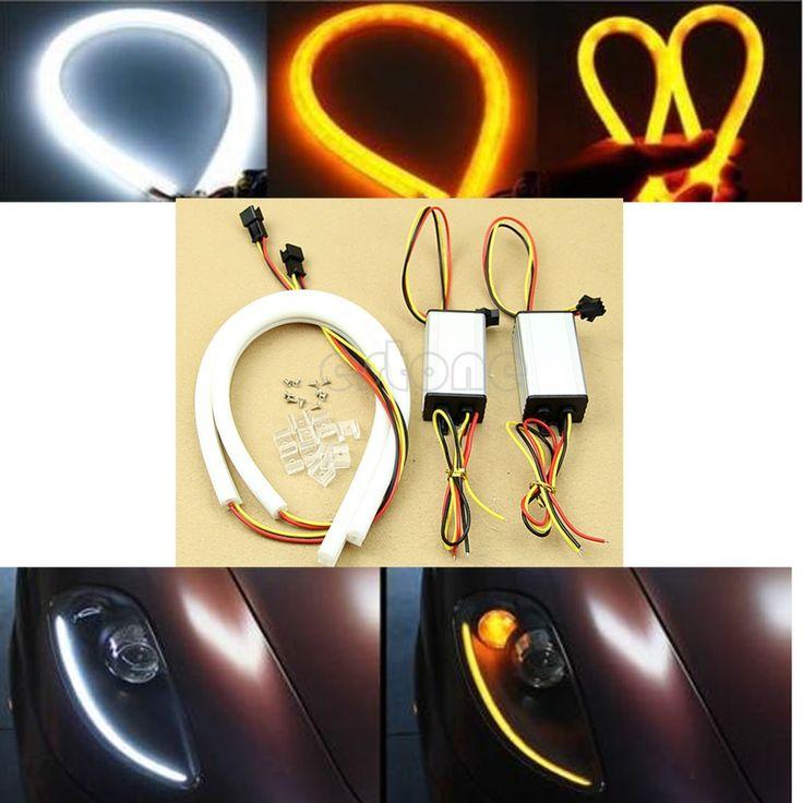 $9.93 (Buy here: https://alitems.com/g/1e8d114494ebda23ff8b16525dc3e8/?i=5&ulp=https%3A%2F%2Fwww.aliexpress.com%2Fitem%2FE93-2016-newestSwitchback-White-DRL-Amber-Turn-Signal-Tube-LED-StripLight-For-Audi-Style-2x30cmfree-shipping%2F32603876247.html ) Switchback White DRL Amber Turn Signal Tube LED StripLight For Audi Style 2x30cm for just $9.93