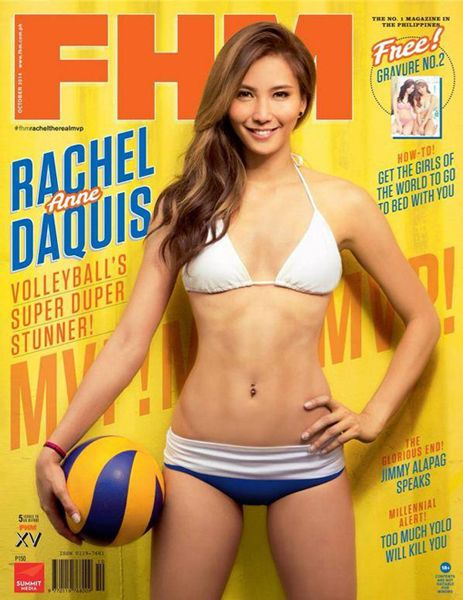 Why Daquis has a shot at FHM sexiest title   ABS-CBN News
