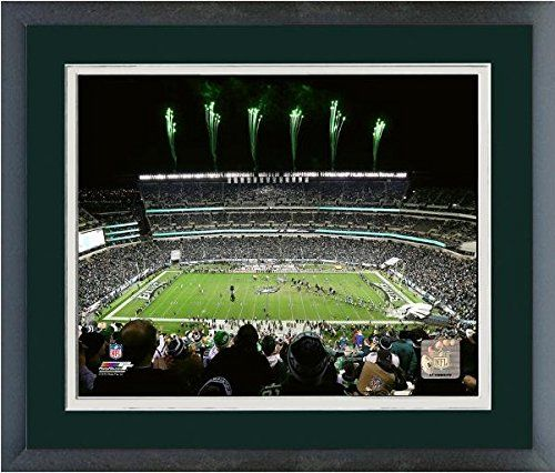Lincoln Financial Field Philadelphia Eagles NFL Stadium Photo (Size: 18″ x 22″) Framed