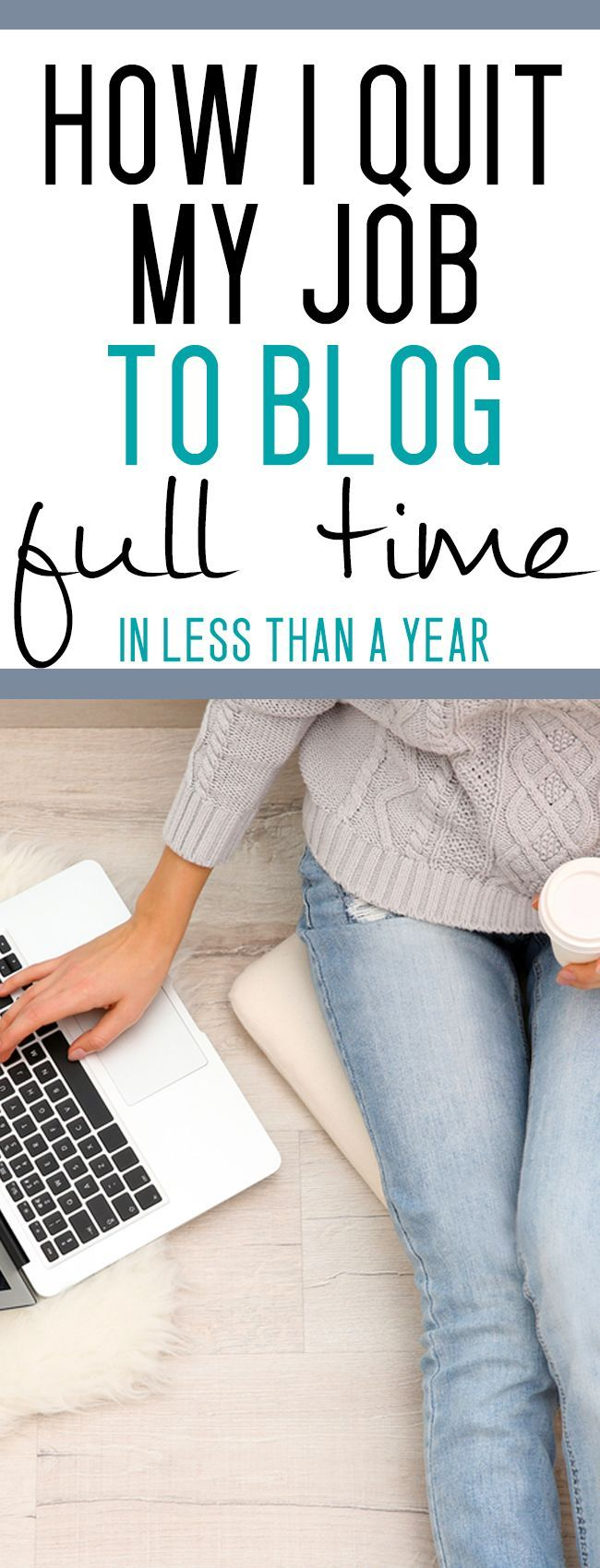 HOW TO QUIT YOUR JOB AND WORK FROM HOME AS A BLOGGER - this is amazing! this woman makes over 5000$ / month from home with no experience!