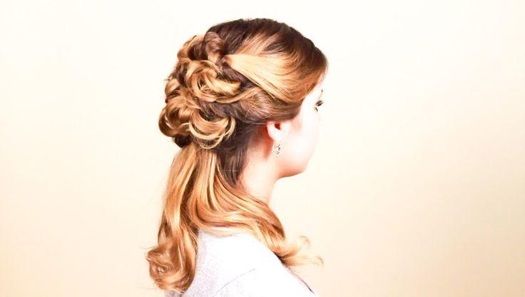 Укладка из жгутов. Twisted Hairdo