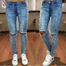 Картинки по запросу джинсы украшенные жемчугом