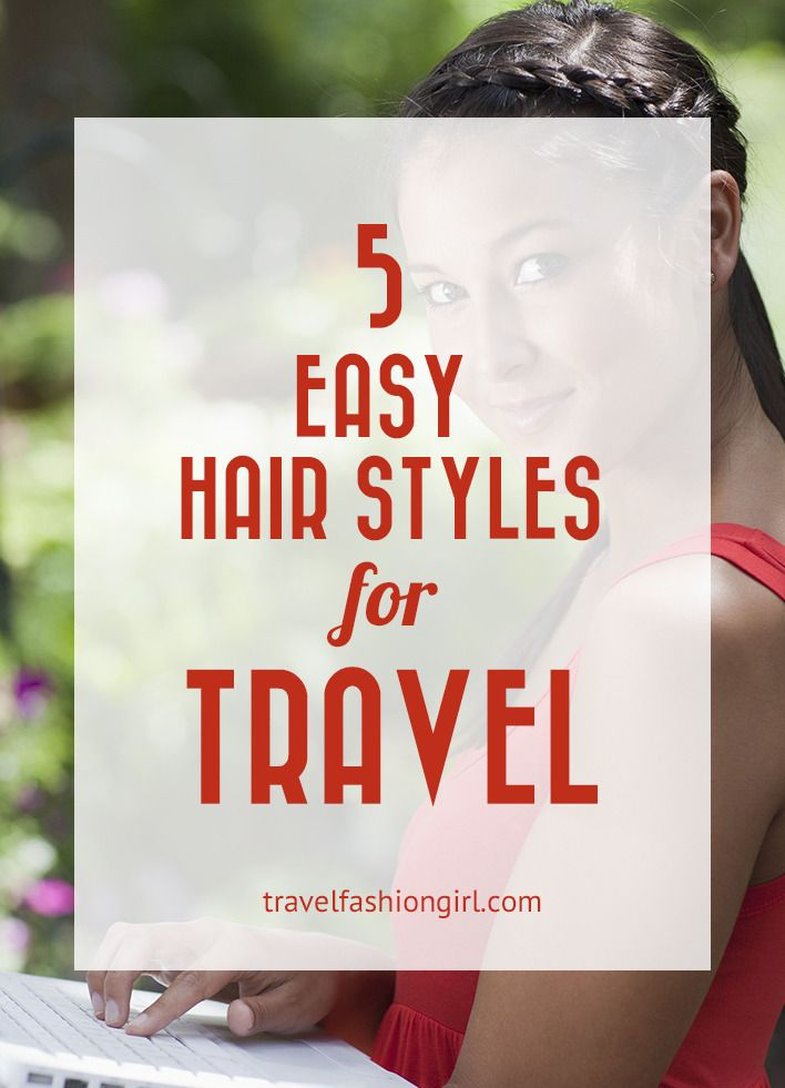Hope you liked these 5 easy travel hair style for your next trip ideas. Please share them with your friends on Facebook, Twitter, or Pinterest. Thanks for reading!