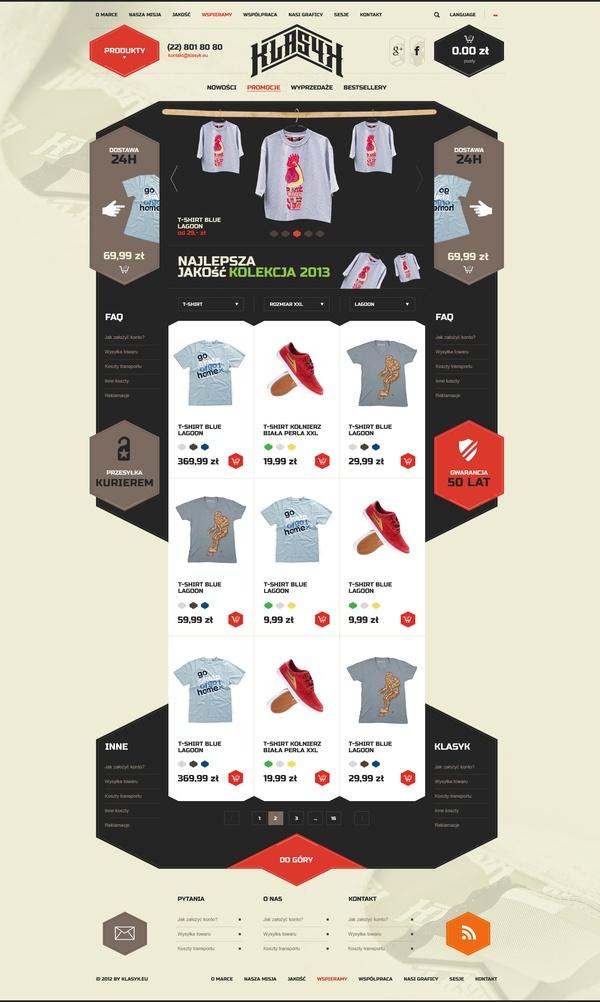 Klasyk Clothes by Sebastian Profic, via Behance