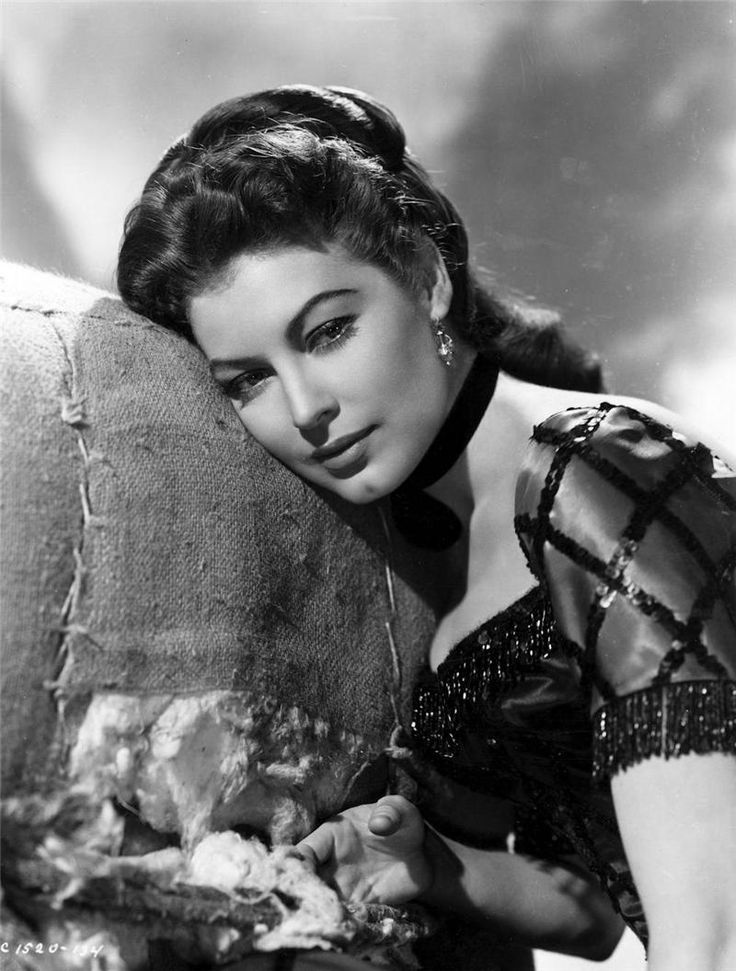 "Ava Gardner - as Julie in the 1951 MGM musical ""Show Boat""- Lena Horne should have had that part, and they wouldn't have had to dub her singing."