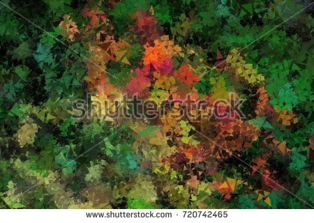 Excellent grunge stucco texture with geometric elements for background