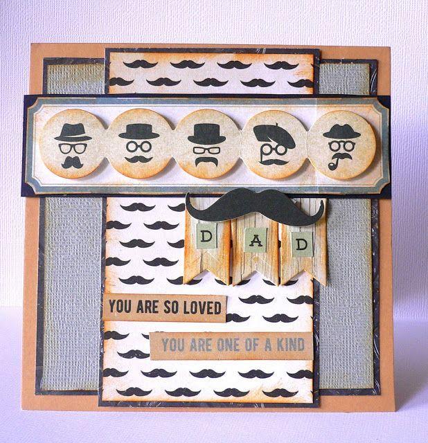 Kaisercraft - Barber Shoppe Cards (AB Inspirations - Adriana Bolzon)