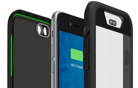 Mophie Presenta una Funda Impermeable y con Batería, para el iPhone 6