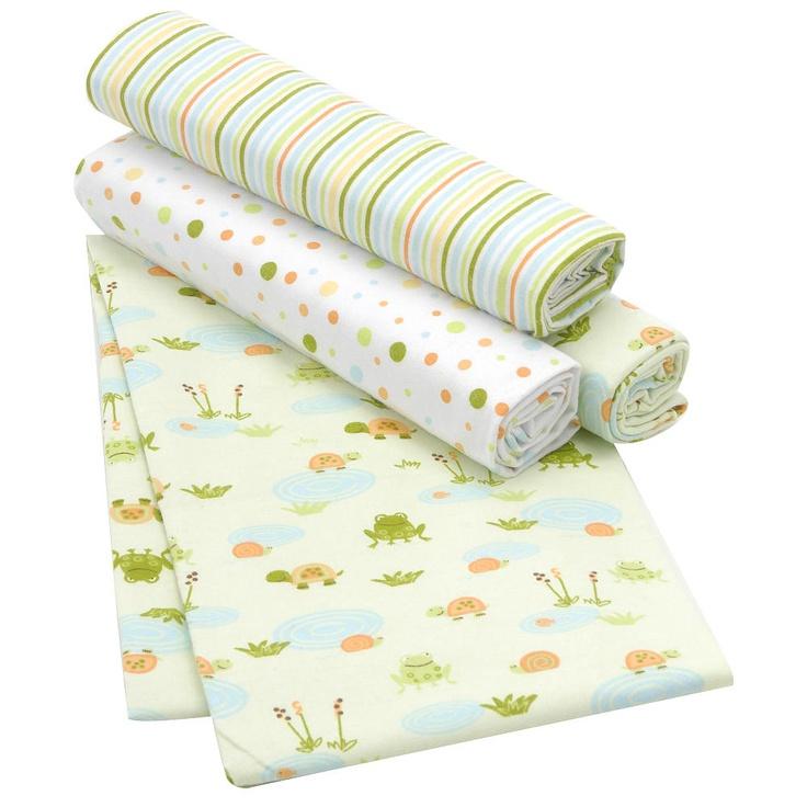 Koala Baby Frog 4 Pack Receiving Blanket Babies R Us