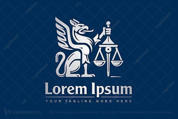 Logo for sale: Gryphon Law Logo  http://www.logoground.com/logo.php?id=22828