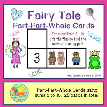 Part Part Whole - Fairy Tale Theme