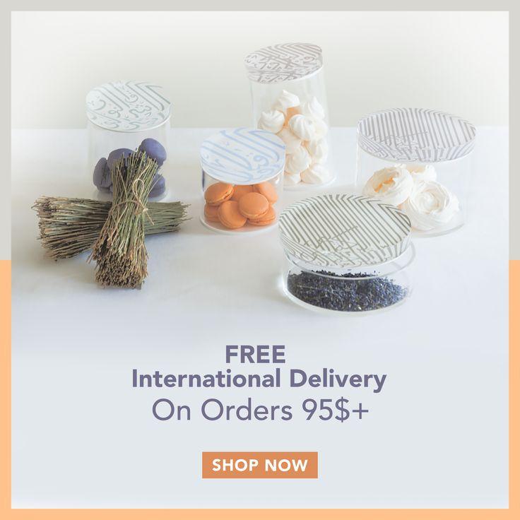 Our gift to you this Hijri New Year - Free international delivery on orders over $95! #free #delivery #weshiparoundtheworld #internationaldelivery #homeware #design #homedesign #perfectgift هديتنا لكم بمناسبة  رأس السنة الهجرية - تسوَّق ب 95 +$ واحصل على توصيل مجاني