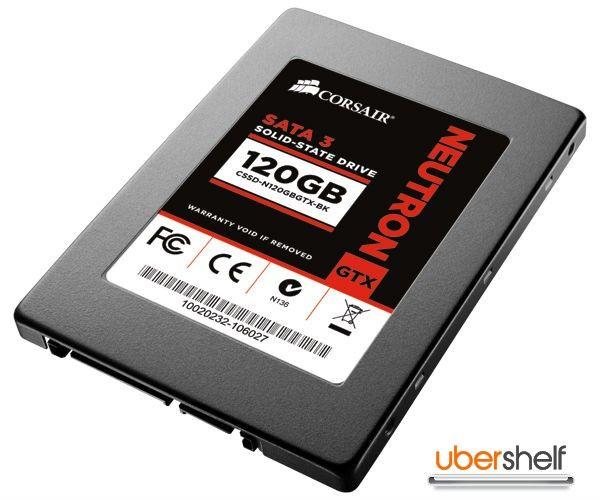 CORSAIR Neutron GTX Series 120GB Solid State Drive
