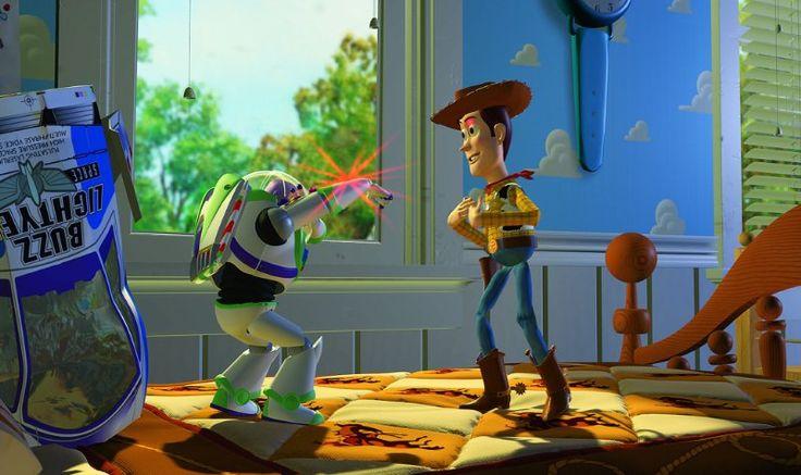 *BUZZ LIGHTYEAR & WOODY ~ Toy Story, 1995   BuBBLes