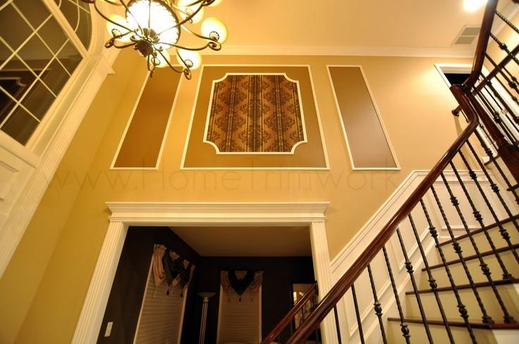 Foyer Trim Ideas : Foyer molding