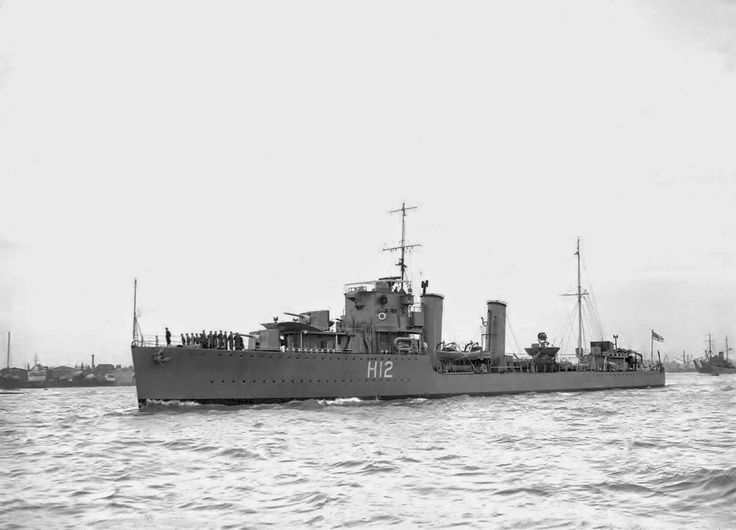 HMS Achates was an A-class destroyer of the British Royal Navy launched on 4 October 1929 and commissioned on 27 March 1930. She was sunk on 31 December 1942 in the Battle of the Barents Sea!