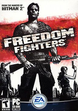 """Freedom Fighters. My humble submission for """"Video Game that Most Deserves a Sequel.""""  I've played both the Game Cube and Xbox versions and I LOVE this little game."""