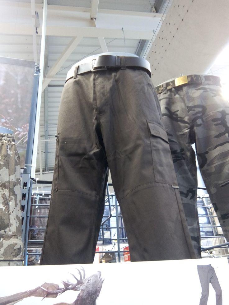 Pantalon Chasse ( pour la pêche) à 17€ chez Décathlon en MARRON ou GRIS