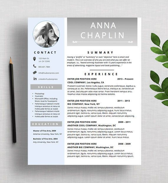 Resume Template Cv Template Modern Resume Design Cover Letter Mac Or Pc Microsoft Word Fully Customizable Madison