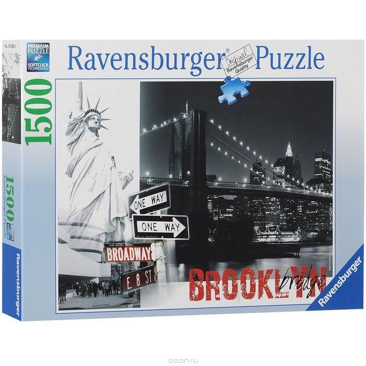 Ravensburger Бруклинский мост. Пазл, 1500 элементов