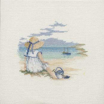Daydreaming - Memories Cross Stitch Kit from Derwentwater Designs