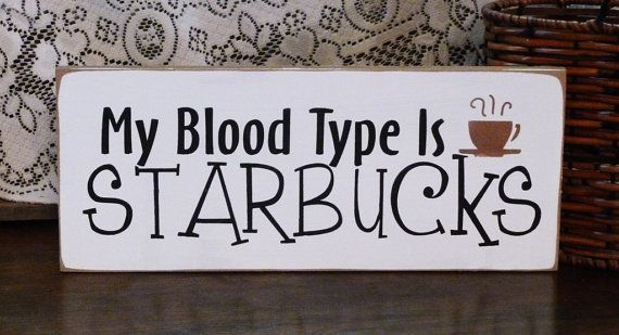 blood type starbucks