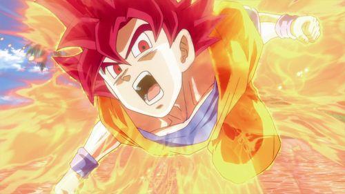 Goku images *Goku Super Saiyan God* HD wallpaper and background photos