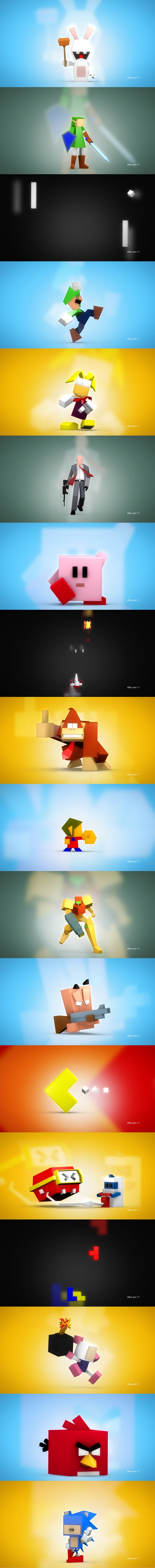 """Who am I ?"" by Guillaume Pinto 3D Graphic / Motion designer http://gp2097.free.fr"